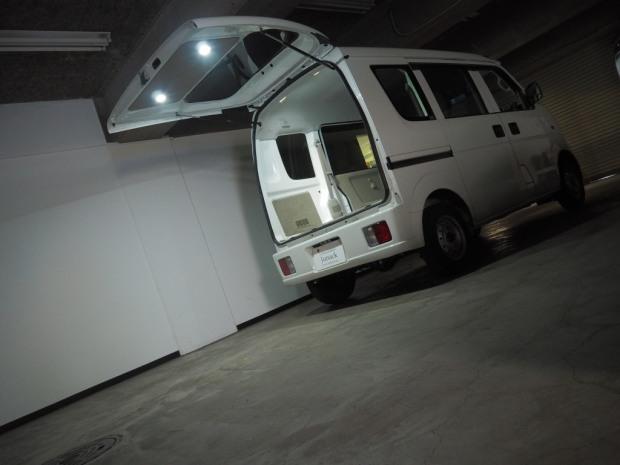 日産 クリッパー LEDISTカーゴランプ 室内明るい
